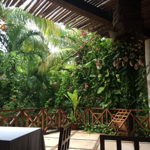 Paraiso Hotel terrace