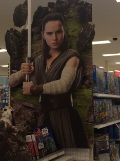 Rey at Target display