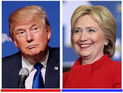 Donald and Hillary