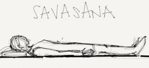 Savasana from The Yoga Garden