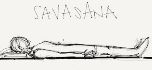 Savasana from The Yoga Garden