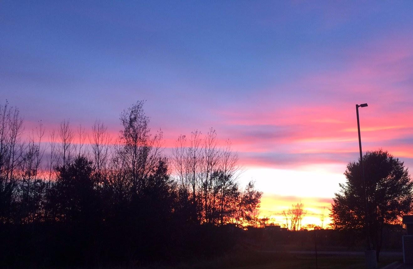 Sunset - Oct 25