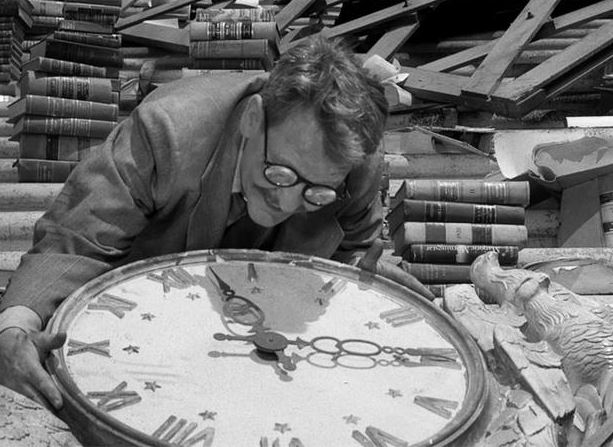 henry bemis and clock