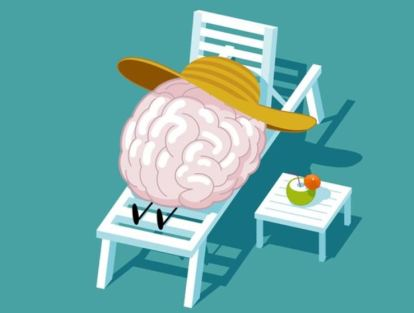 brain on vacation