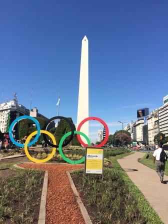 olympics obelisk