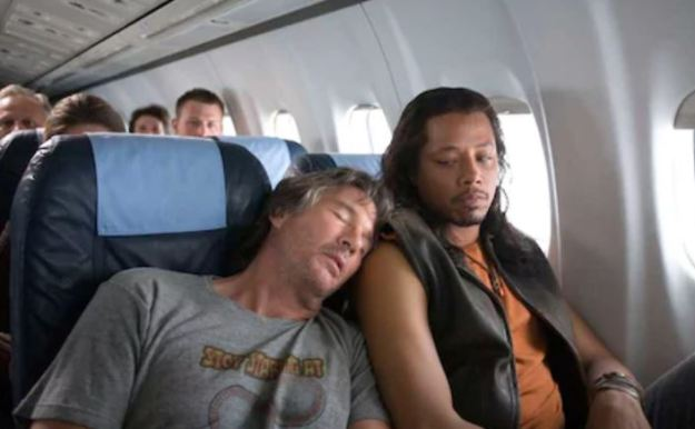 sleep on plane