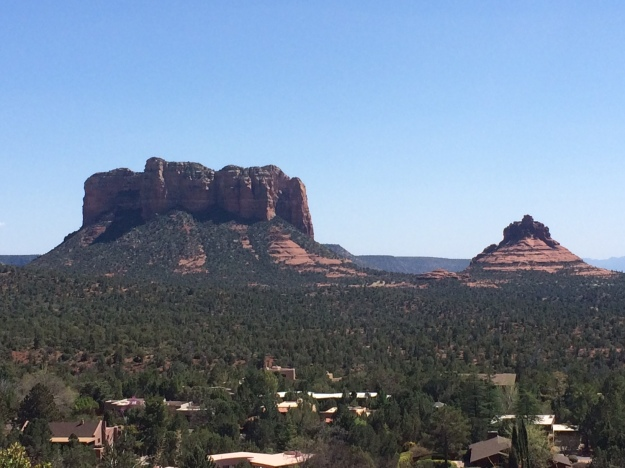 Sedona two monuments