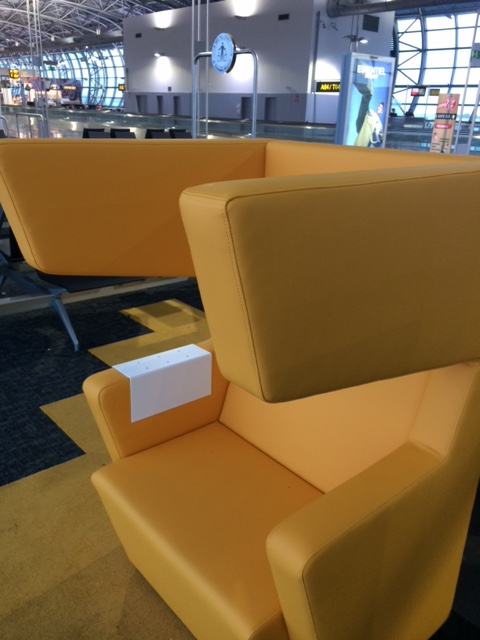 introvert chair Brussels airport