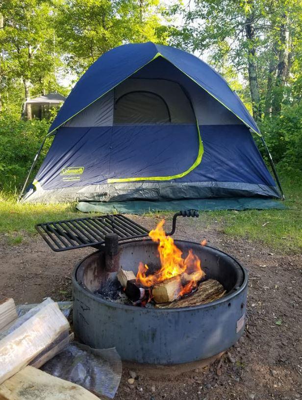 St Croix State Park base camp
