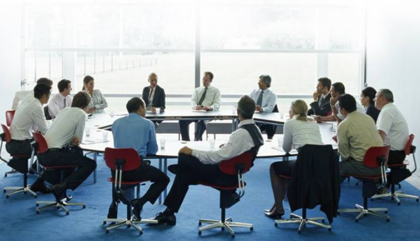 women in boardroom