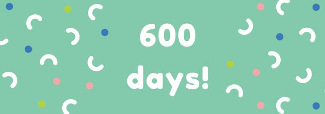 600 days