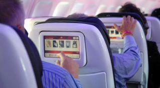 plane screens
