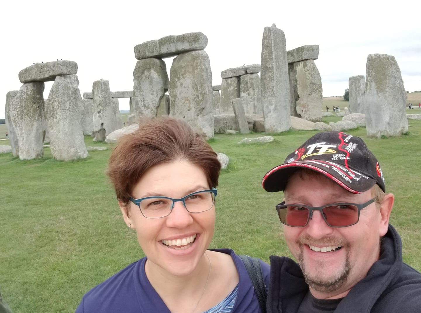 Together at Stonehenge