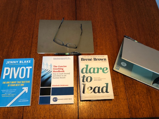 pivot, concise coaching, dare to lead