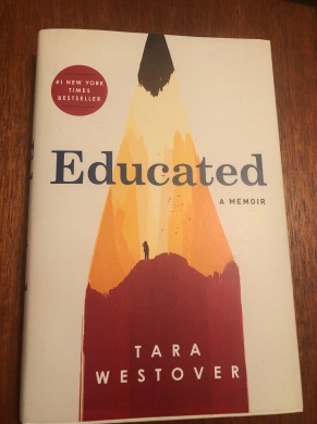 Educated photo of book cover