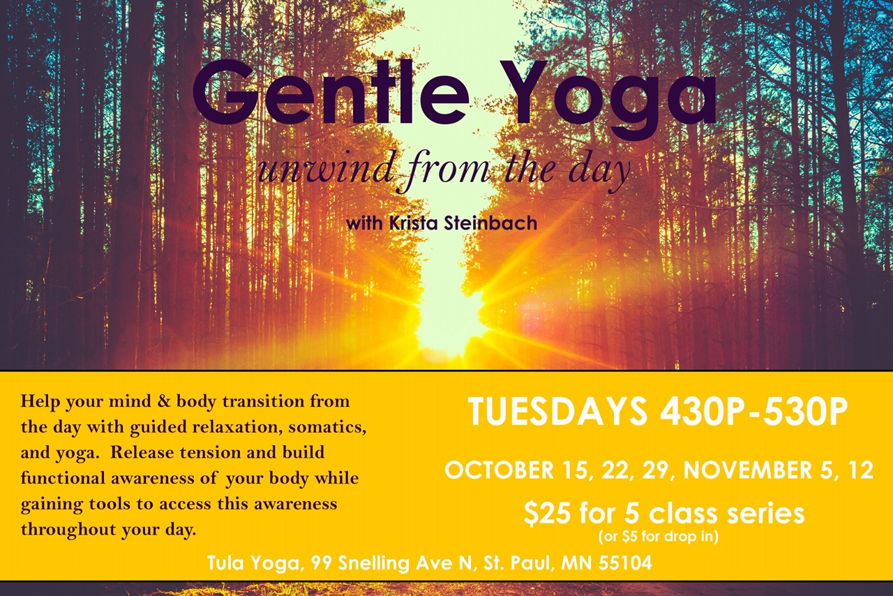 Gentle Yoga - Saturday Share