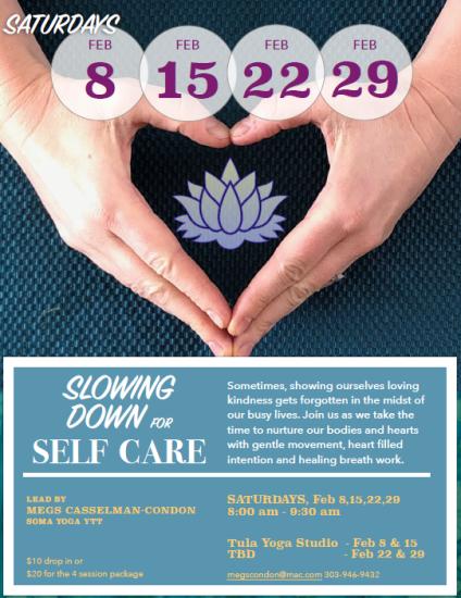 Soma Yoga Sat Feb Megs