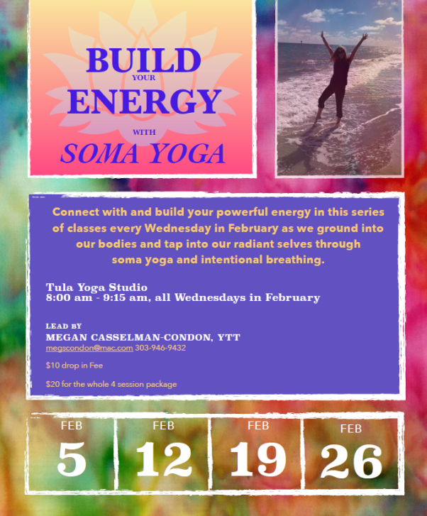 Soma Yoga Wed Feb Megs