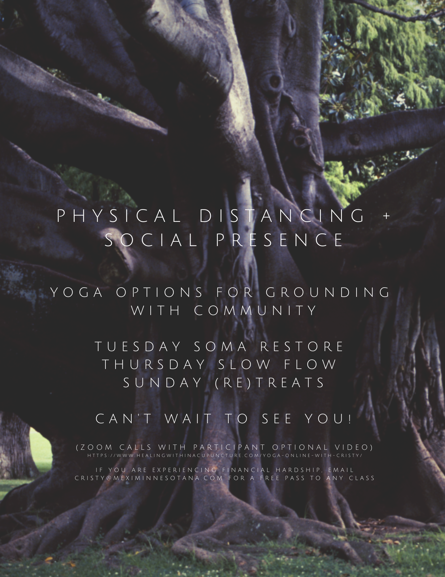 Physical distancing and presence